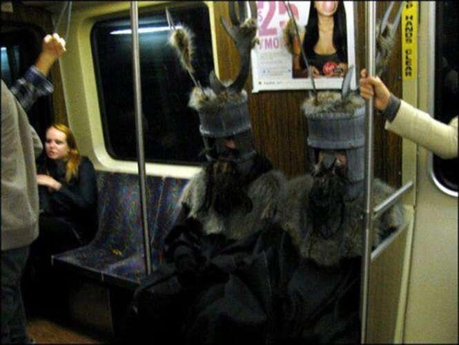 As pessoas mais estranhas que já frequentaram metrôs