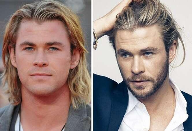 Antes e depois que provam que os homens ficam melhores de barba