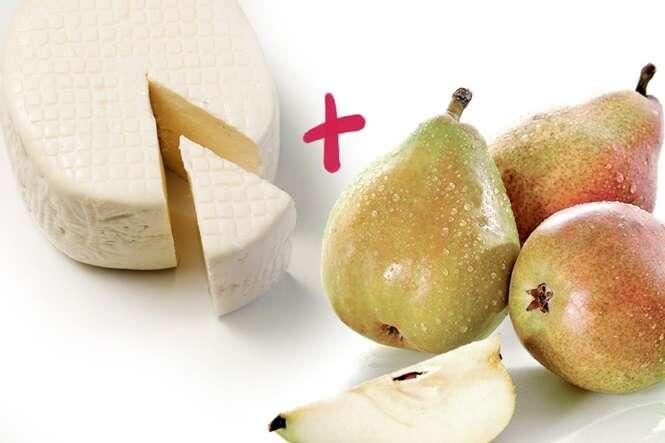 Queijo e fruta: uma dupla perfeita