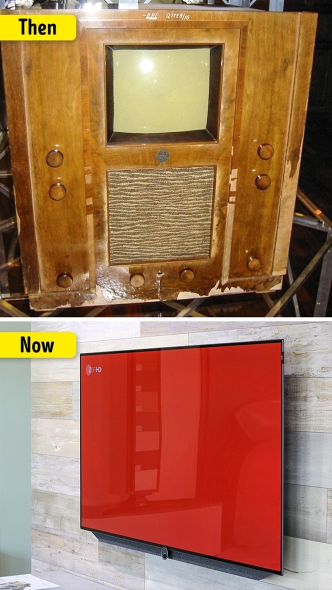 Coisas que mudaram muito com o passar do tempo