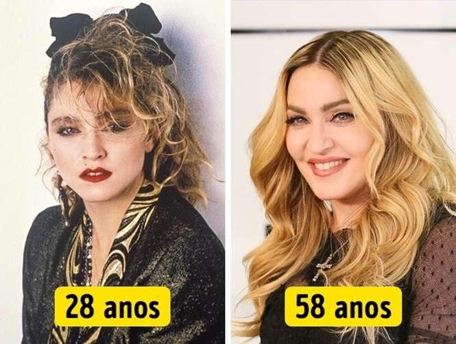 Celebridades que quanto mais velhas, mais lindas