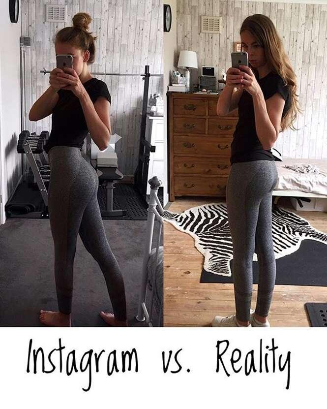 Provas de que você não deveria invejar corpos perfeitos do Instagram