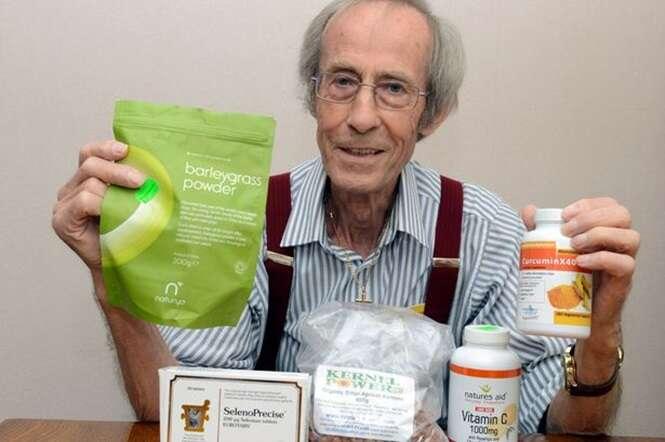 Saiba como a extravagante dieta deste homem teria contribuído para que ele vencesse um câncer incurável