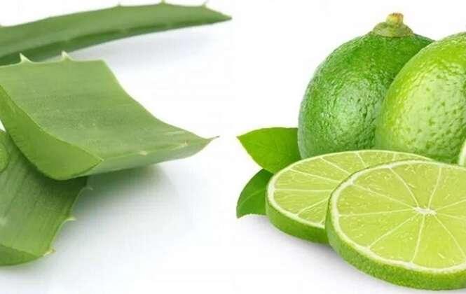 Para limpar seu fígado e intestino rapidamente, use limão e babosa desse jeito