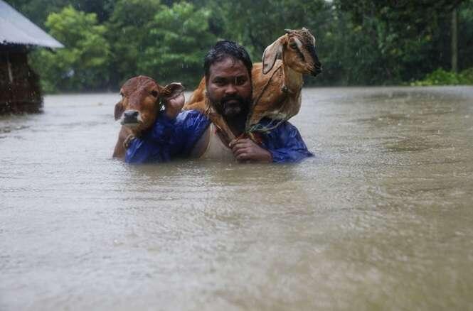 Quase ninguém está falando das inundações no sul da Ásia que mataram mais de mil pessoas