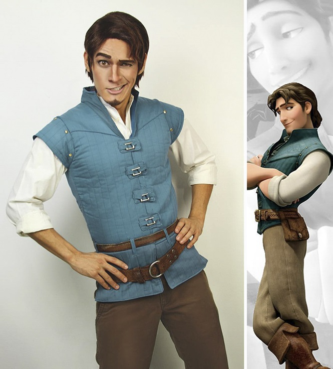 Este cosplayer é capaz de se transformar em qualquer personagem da Disney
