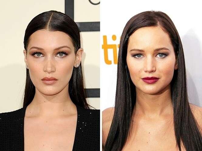 Você nunca havia notado as semelhanças entre estes pares de celebridades