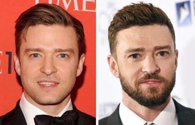Celebridades que mudaram demais depois que passaram a usar barba