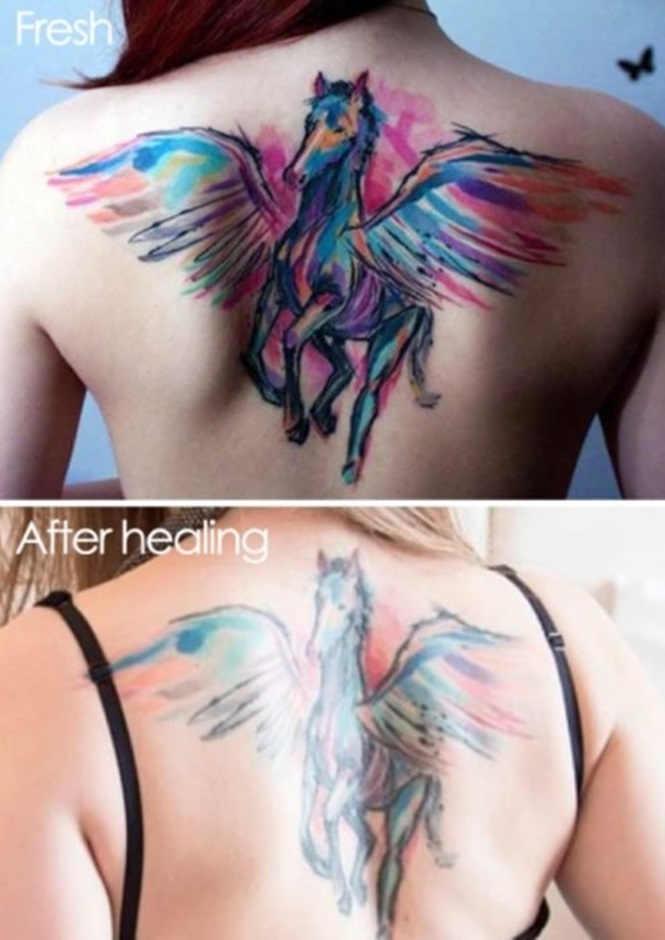 Como 15 tatuagens mudaram ao longo do tempo