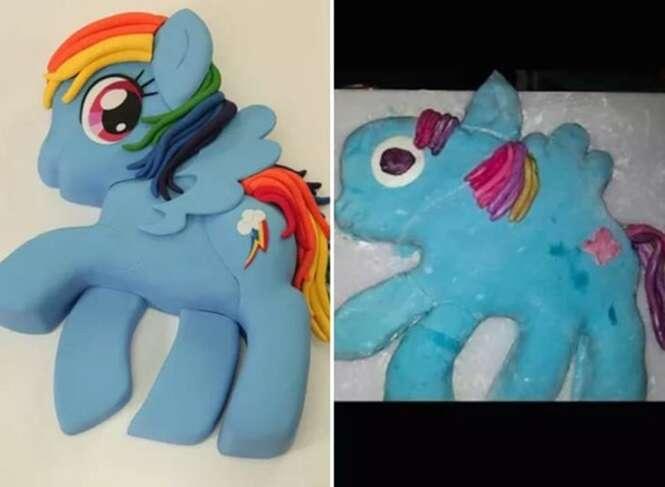 Pessoas que falharam miseravelmente ao tentarem fazer bolos lindos