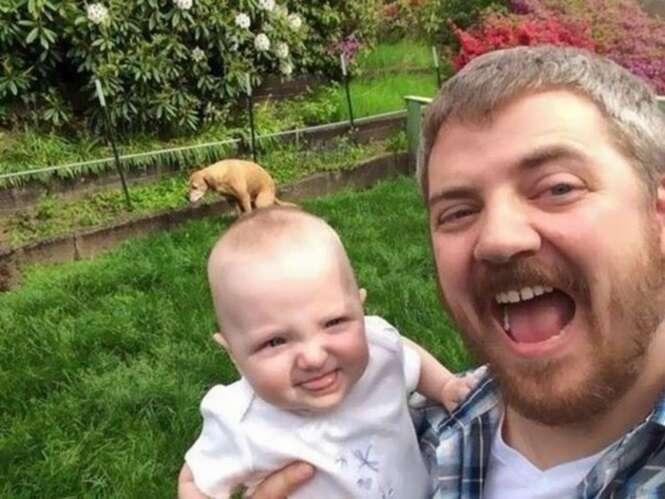 """Selfies que deram novas definições a palavra """"constrangimento"""""""