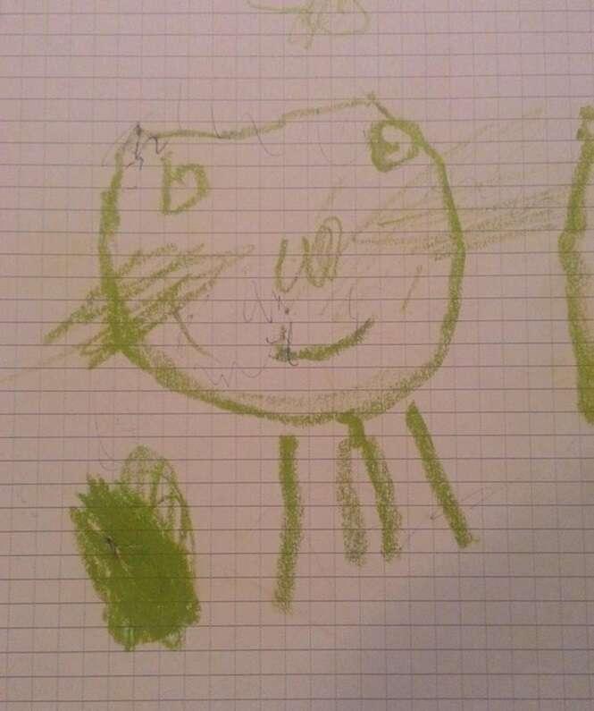 Pingentes inspirados em desenhos infantis