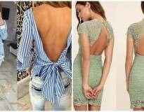 12 lindas roupas que são ainda melhores vistas pelas costas