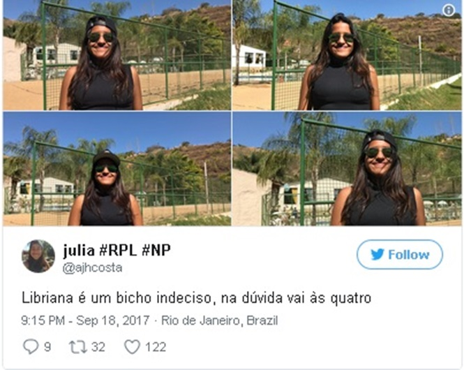 Os 17 mais de librianos do Brasil