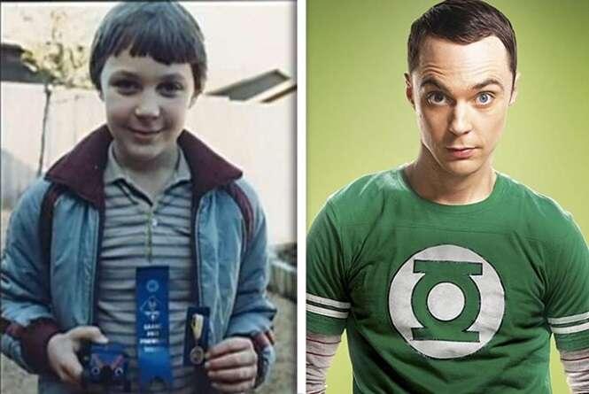 """Os atores de """"The Big Bang Theory"""" quando crianças"""
