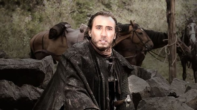 "E se todos os personagens de ""Game of Thrones"" fossem interpretados por Nicolas Cage"