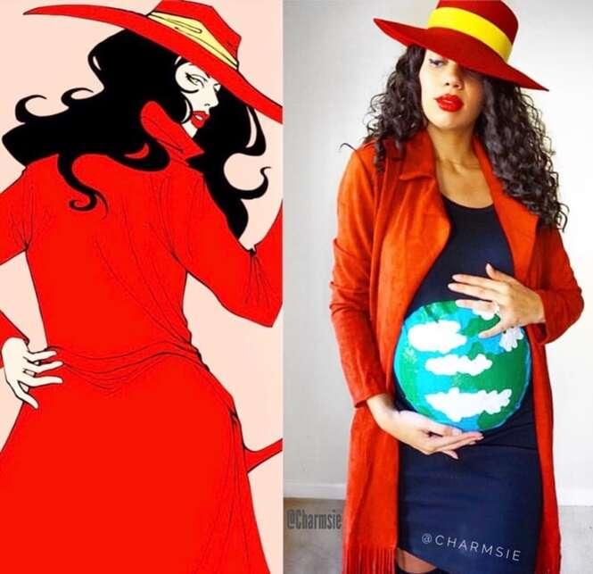 Ideias de fantasias para grávidas para o Dia das Bruxas