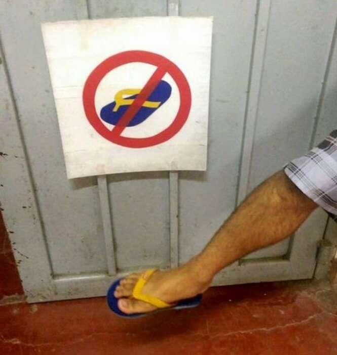 Pessoas descumprindo regras
