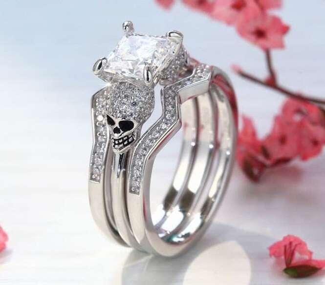Anéis de noivado tão lindos que qualquer uma gostaria de ter