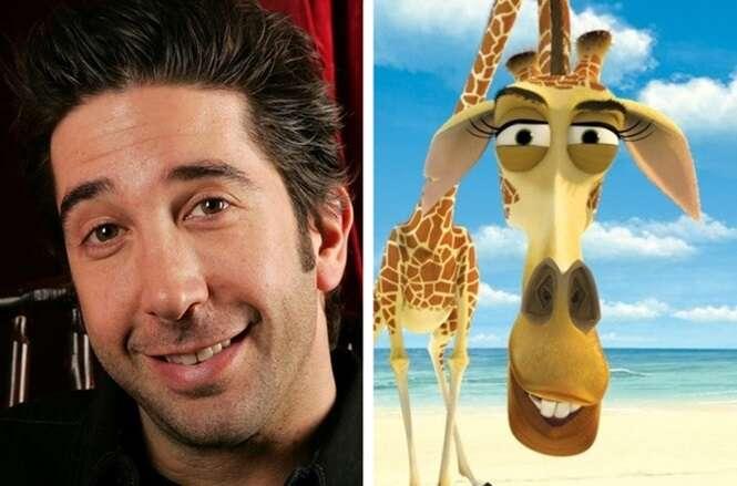 Personagens animados que foram inspirados em celebridades