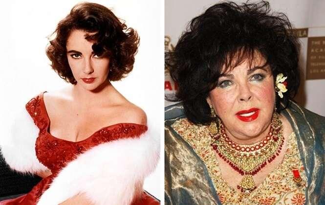 Como 13 famosos mudaram no decorrer dos anos
