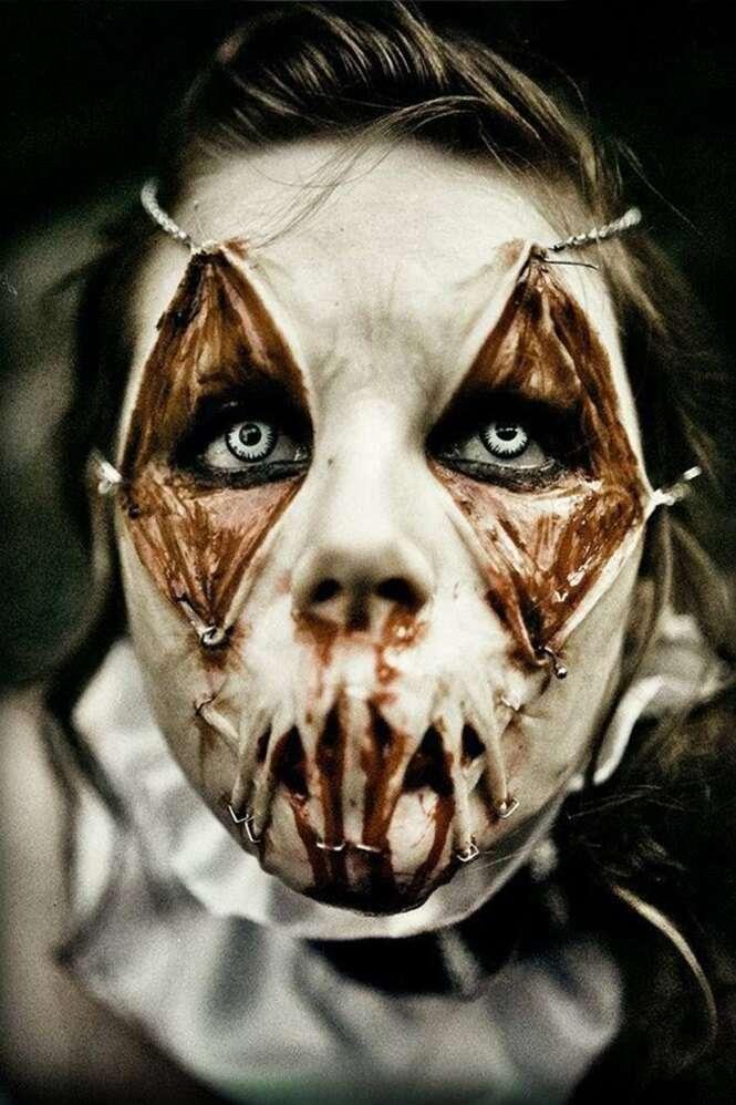 As maquiagens mais arrepiantes do Dia das Bruxas