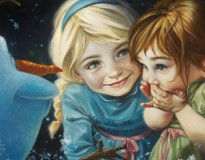 Artista recria personagens da Disney de forma clássica
