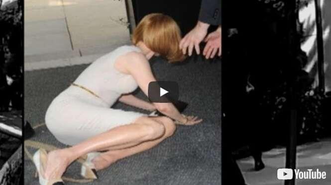 Famosos que já beijaram o chão na frente de pelo menos uma câmera