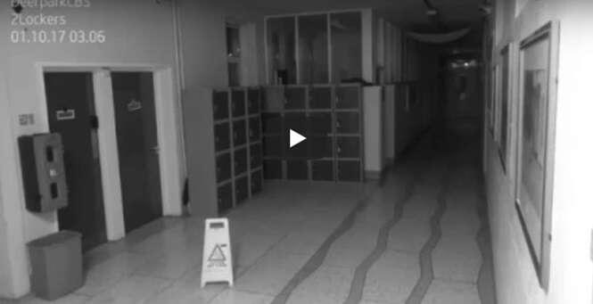 Câmera flagra pela segunda vez suposto fantasma assombrando colégio