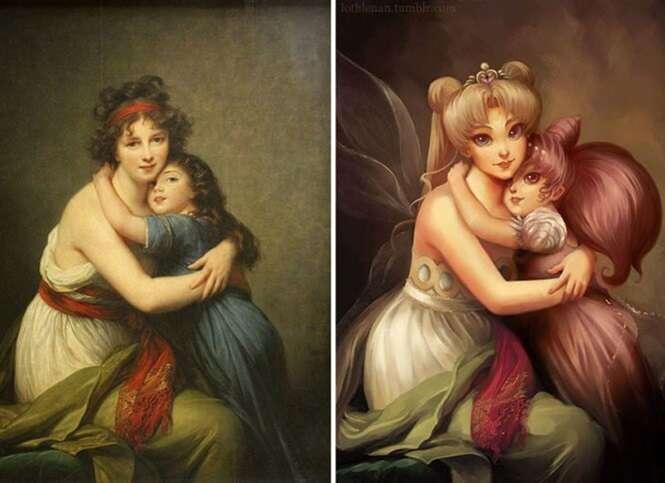 Pinturas clássicas que sofreram mudanças surpreendentes