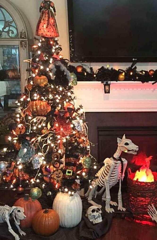 Árvores de Natal bem diferentes