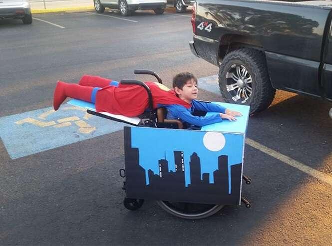 Pessoas com deficiência que mitaram em Dias das Bruxas