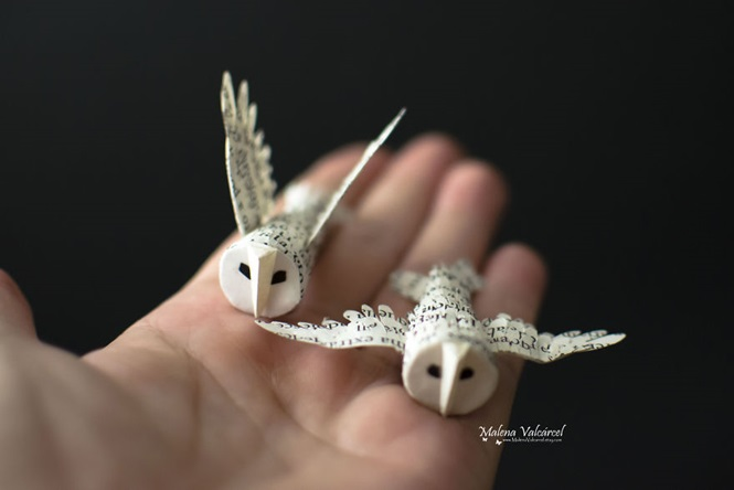 Incríveis miniaturas de pape