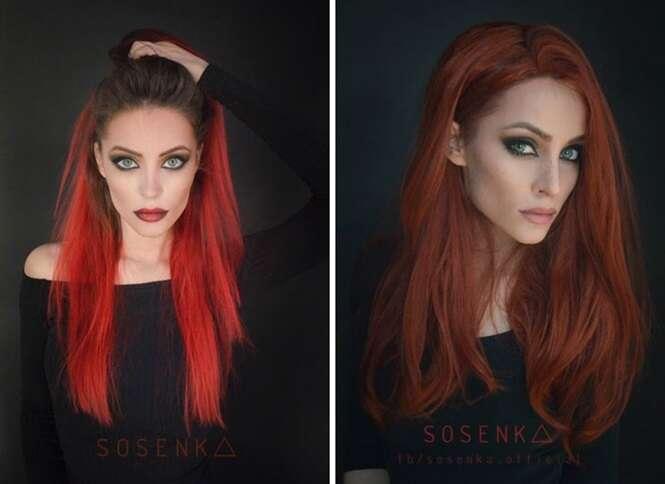 Esta talentosa polonesa é capaz de se transformar no personagem que quiser