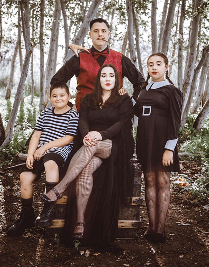 Famílias que mandaram muito bem em suas fantasias de Dia das Bruxas