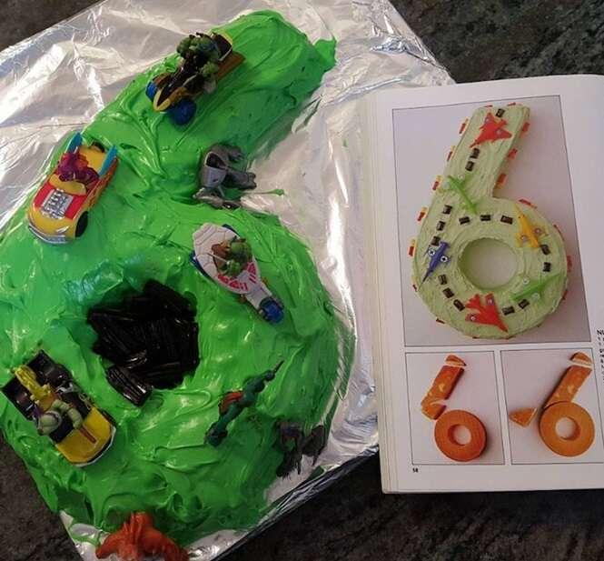 Os piores bolos que o mundo já viu