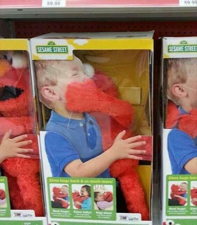 Criadores de brinquedos que necessitam de férias urgentemente