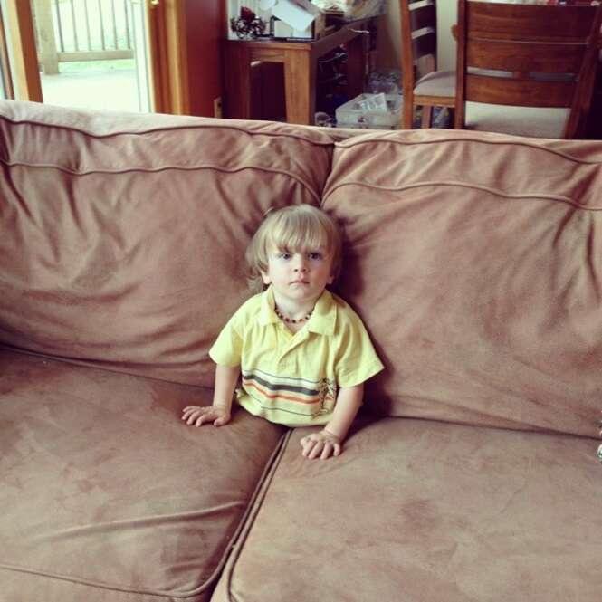 Fotos que provam que as crianças são seres estranhos