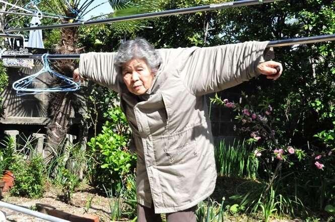 Fotos de uma vovó japonesa que vão te divertir