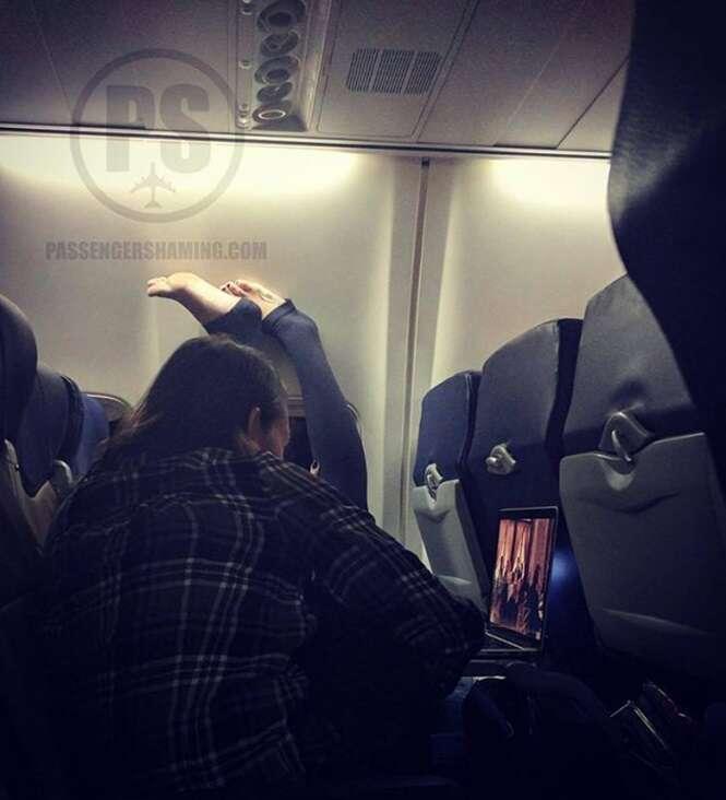 Passageiros desagradáveis que felizmente não estavam no seu voo