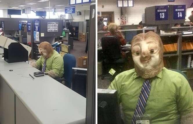Funcionários que transformaram o local de trabalho em um ambiente mais divertido