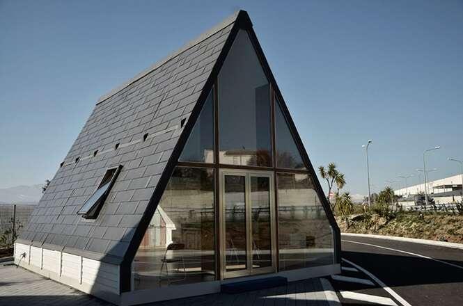 Esta casa leva apenas 6 horas para ser construída e custa cerca de R$ 100 mil