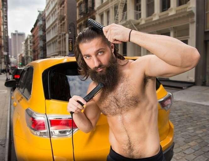 Taxistas de Nova Iorque em calendário 2018 são a coisa mais sensual que você verá hoje