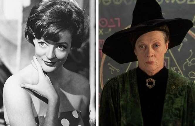 """Como eram na juventude atores que interpretaram professores em """"Harry Potter"""""""