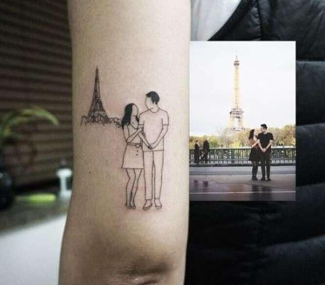 Mestres em tatuagens que unem elegância e minimalismo