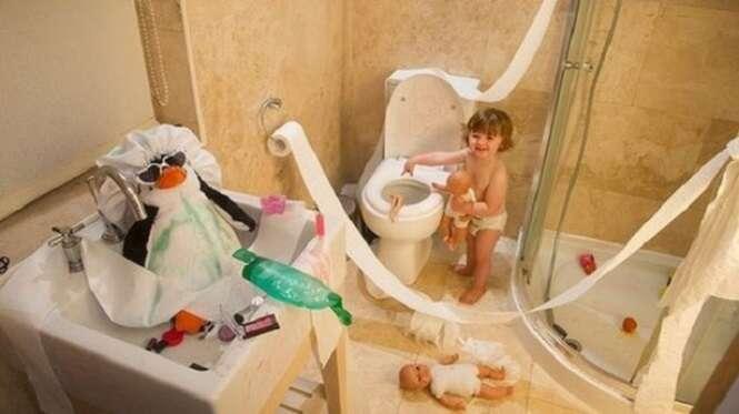 Provas de que as crianças não podem ficar sem supervisão