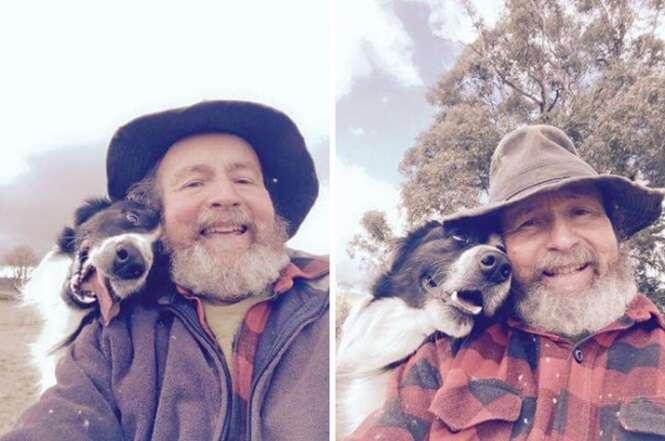 Fotos demonstrando a verdadeira amizade existente entre bichos e pessoas