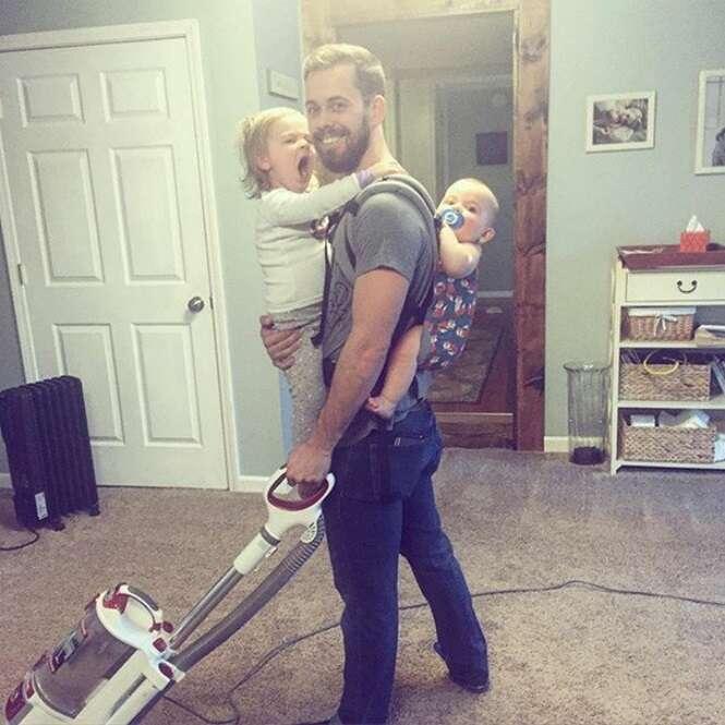 Poderosas fotografias que mostram a beleza da paternidade