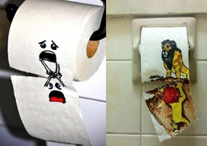 """Hilários """"vandalismos"""" encontrados em banheiros públicos"""