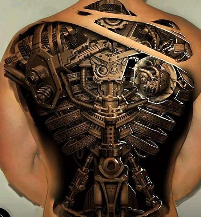 26 vezes em que tatuadores 3D superaram todas as expectativas